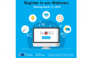 Registration for the ReCRED's pilots webinars is open. - Κεντρική Εικόνα