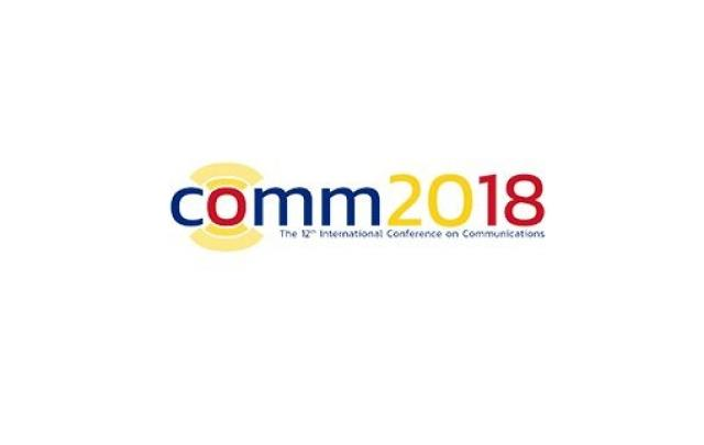 CSGN has published an article at the 12th International Conference on Communications – COMM 2018 - Κεντρική Εικόνα