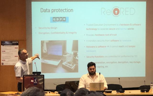 "ReCRED at the ""GDPR: The next day"" workshop, Greece - Κεντρική Εικόνα"