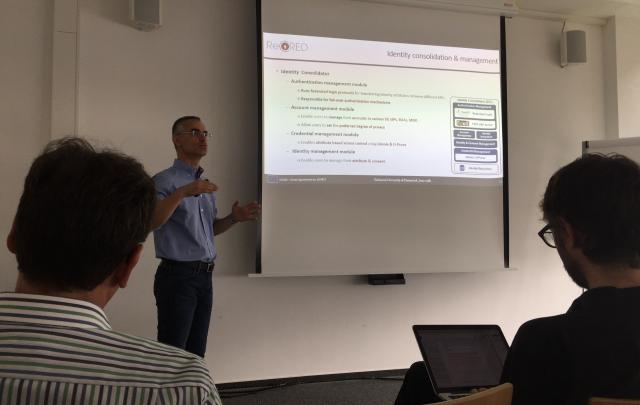 ReCRED presentation at the Technical University of Darmstadt, Germany  - Κεντρική Εικόνα